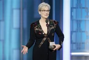 Meryl Streep en los Golden Globes (subtitulado)