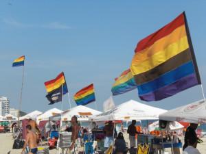 El posto 9 en Ipanema: cita playera obligada para el público gay.